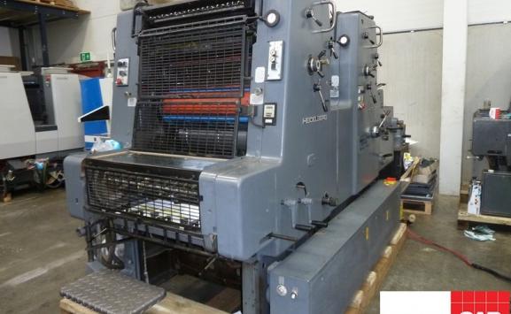 Heidelberg MOZP two colour offset