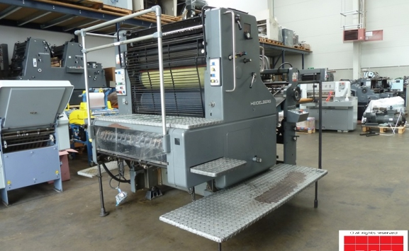 Heidelberg SORS single colour offset