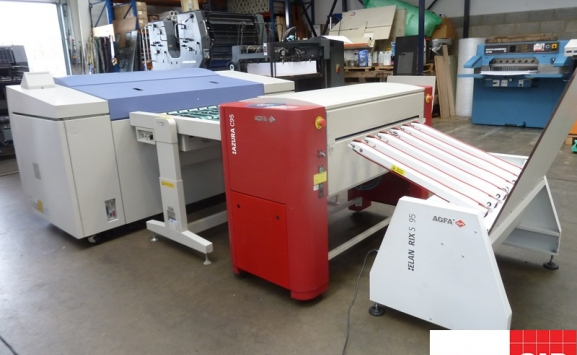 screen pt-r8100 ctp system # 8 up thermal