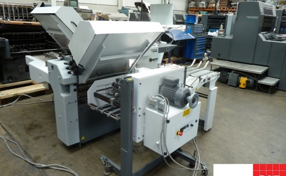 Used Heidelberg StahlFolder TI 52 4-4-1 paper folding machine