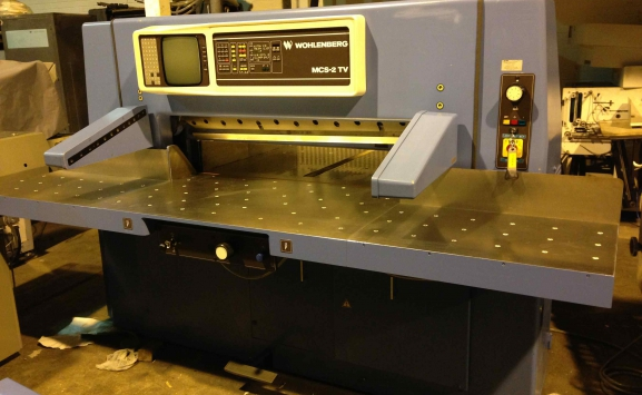WOHLENBERG 115 MCS-2TV GUILLOTINE FOR SALE