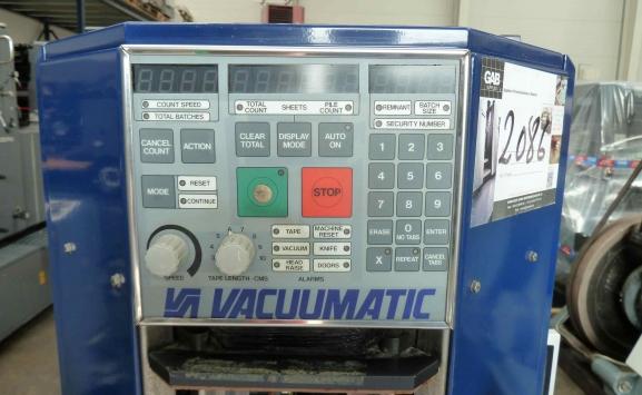 VACCUMATIC VICOUNT PAPER COUNTER