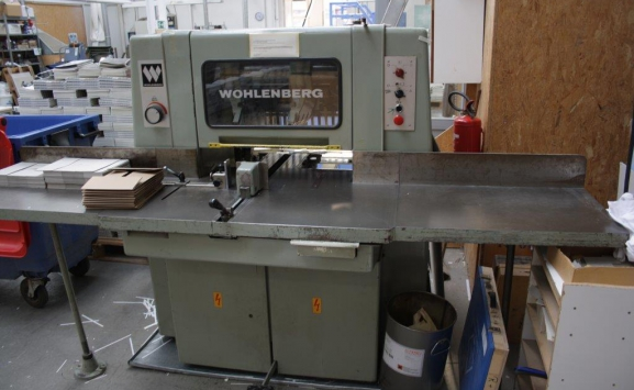 THREE KNIFE TRIMMER WOHLENBERG 38F
