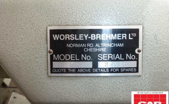 Brehmer Worsley S wire stitcher