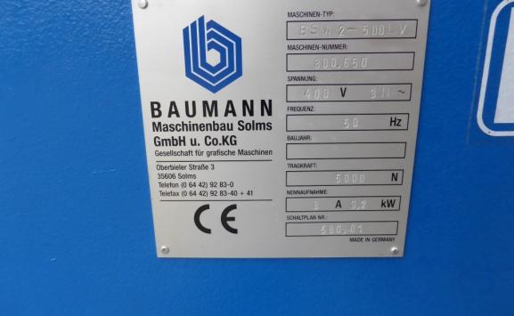 BAUMANN BSW 2 500LV PILE TUNER