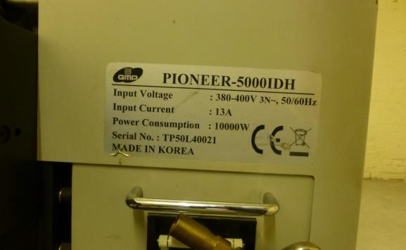 GMP PIONEER 5000 BC LAMINATOR