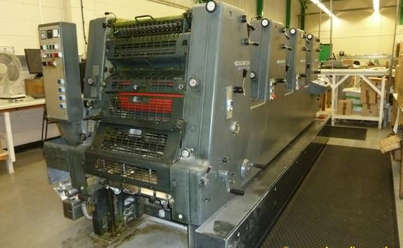 HEIDELBERG GTO 52-4 FOUR COLOUR OFFSET