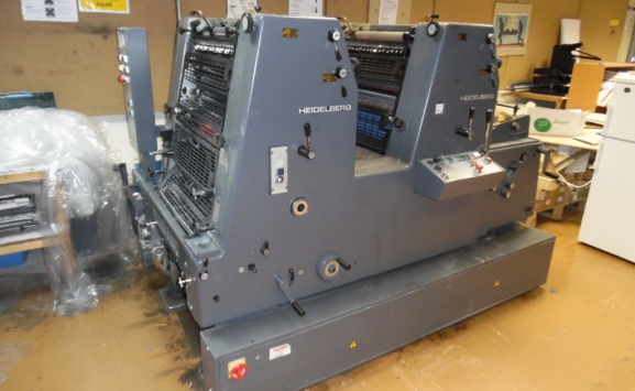 HEIDELBERG GTO52-Z TWO COLOUR OFFSET