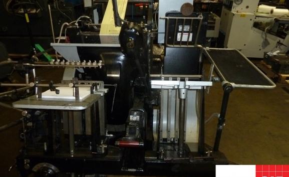 Original Heidelberg GTP Platen with Hot Foiling