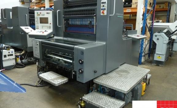 Heidelberg SM 74-1 single color offset printing machine