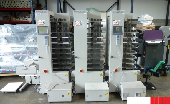 3 x Horizon VAC-100 COLLATORS FOR SALE