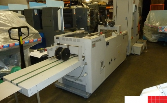 Horizon VAC-100 with SPF-20A + FC-20A booklet maker