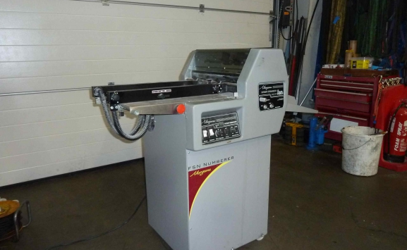 MORGANA FSN 60030 NUMBERING & PERFORATING MACHINE