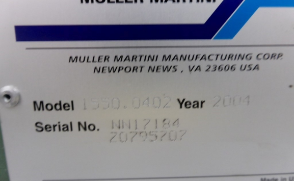 MULLER MARTINI PRESTO 6+1 SADDLE STITCHING LINE