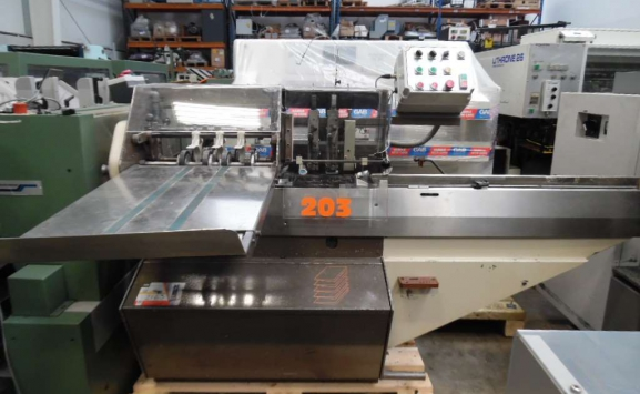 ROSBACK 203 SEMI-AUTO TWIN HEAD STITCHER