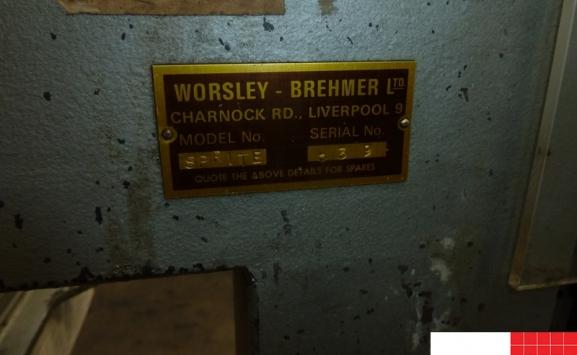 worsley brehmer sprite single head stitcher