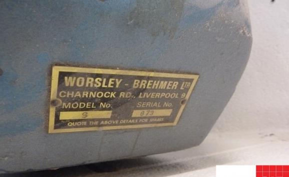 single head wire stitcher - worsley brehmer s