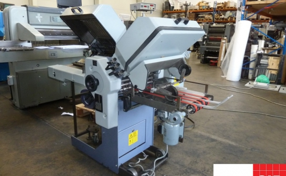 stahl t-36 6/4 pharmaceutical folding machine