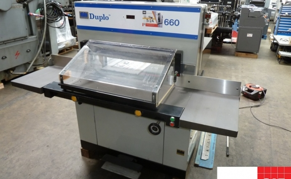 Used Duplo 660 Guillotine