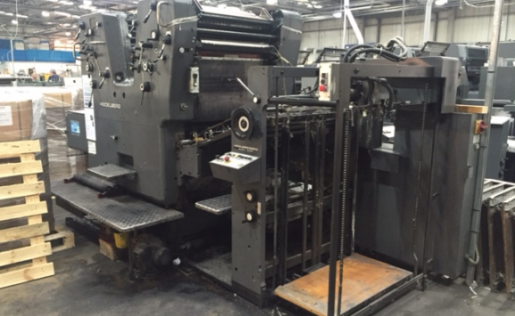 HEIDELBERG SORKZ TWO COLOUR OFFSET