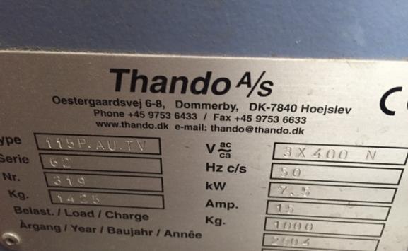 THANDO 115P.AU.TV PILE TURNER