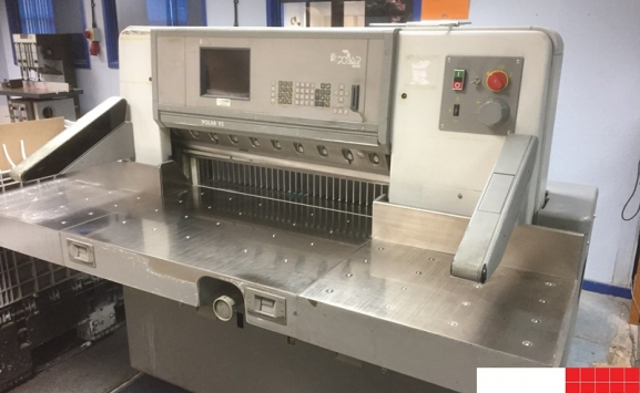 polar 92e guillotine paper cutter