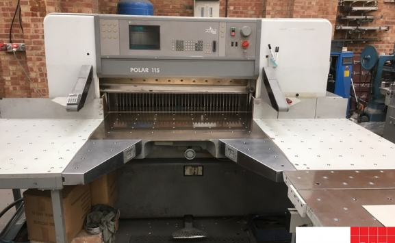 polar 115 ED used guillotine for sale