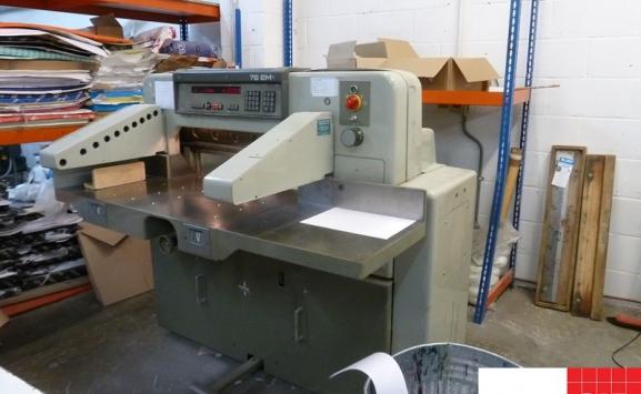 used polar guillotine - Polar 76 EM
