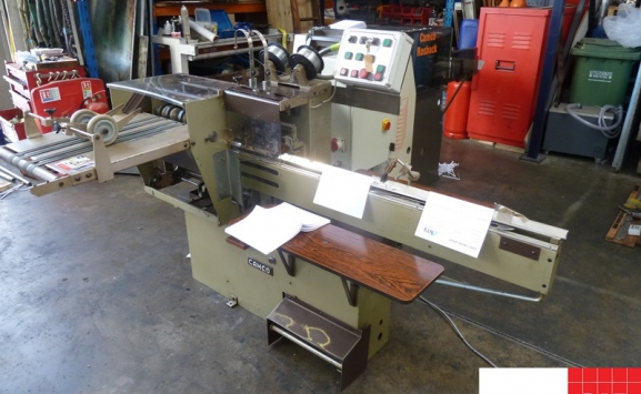 ROSBACK 202 TWIN HEAD SADDLE STITCHER WITH ON-LINE TRIMMER
