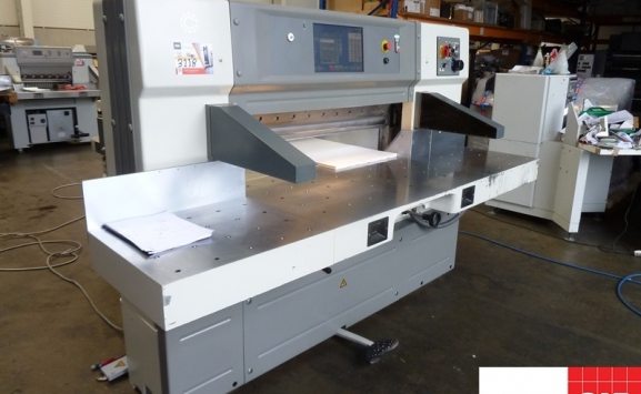 Used Terry Cooper CCM 115 cm guillotine