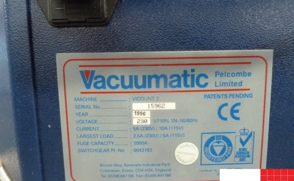 vaccumatic vicount 2 paper counter