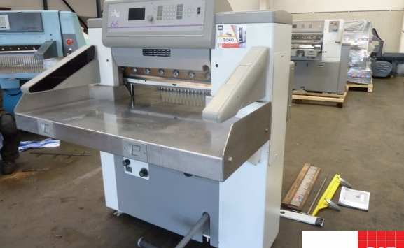 polar 66 paper cutter - single phase