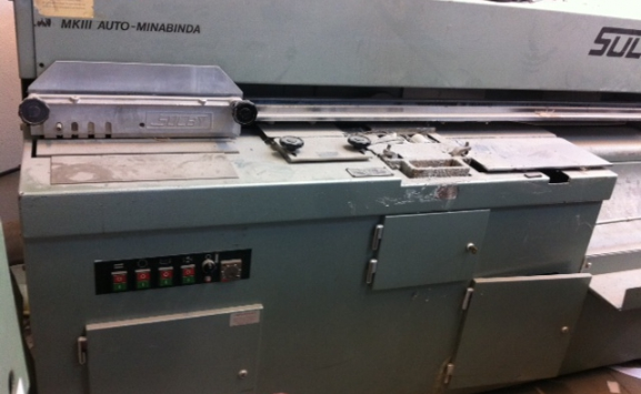 USED PERFECT BINDER-SULBY