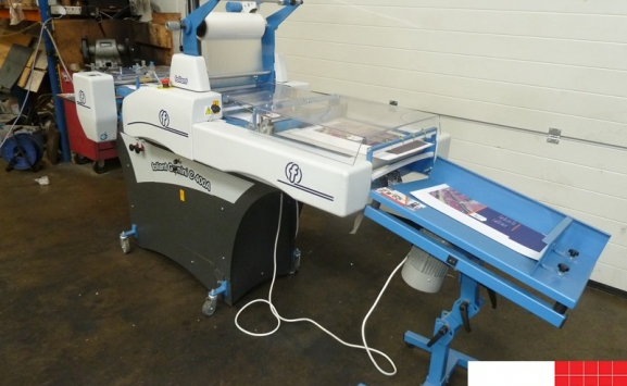 used thermal laminator - foliant gemini compressor 400a