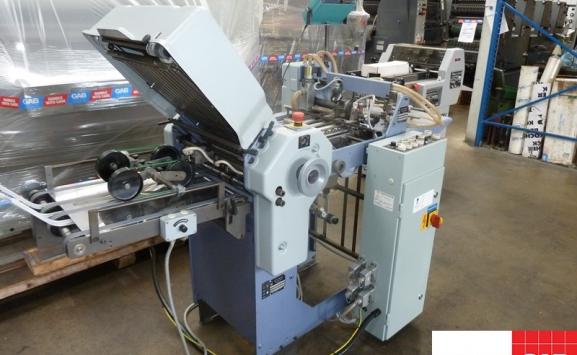 stahl t-36/4 pharmaceutical paper folding machine
