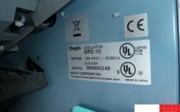 duplo dfc-10 ten station collator