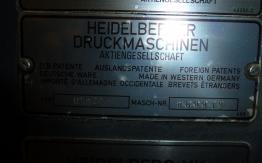 HEIDELBERG GTO 46 ZP