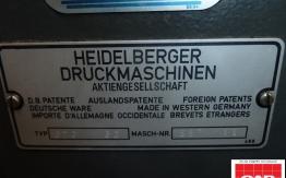 heidelberg gto52 single colour offset