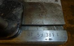 "HEIDELBERG GT PLATEN (13 x 18"")"