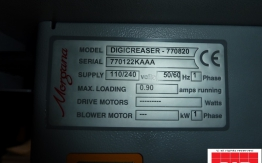 morgana digicreasar 770820 creasing machine