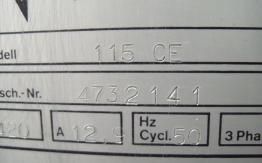 POLAR GUILLOTINE 115 CE 1977