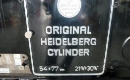 HEIDELBERG SB CYLINDER