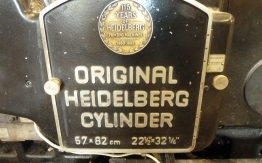 HEIDELBERG SBB CYLINDER