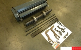 USED NUMBERING AND PERFORATING UNIT FOR HEIDELBERG MO OFFSETS