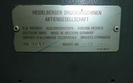 1990 HEIDELBERG MOVP-S OFFSET