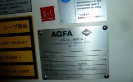 AGFA ACENTO S CTP SYSTEM (Screen 4300S)
