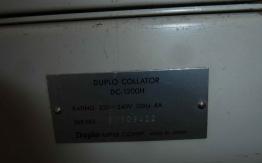 DUPLO DC 1200H COLLATOR