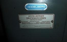 HEIDELBERG GTO 46 N&P (1988) OFFSET