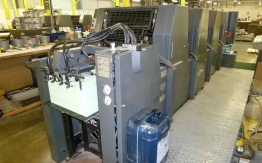 USED HEIDELBERG GTO 52-VS FOUR COLOUR OFFSET