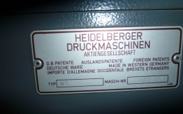HEIDELBERG MO-S OFFSET